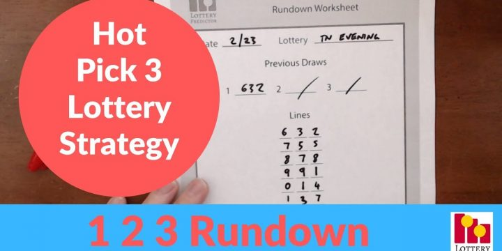 Simple Strategies On How To Win Pick 3 Lottery